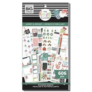 The Happy Planner- Merry & Bright Sticker Book